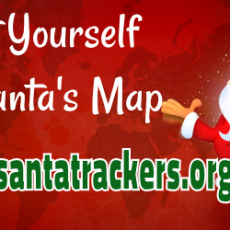 Add Yourself to Santa's Map