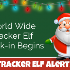 World Wide Tracker Elf Check-in Begins