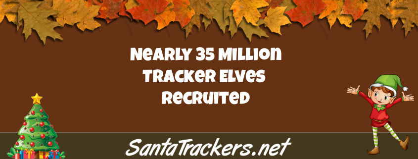 35 Million Tracker Elves