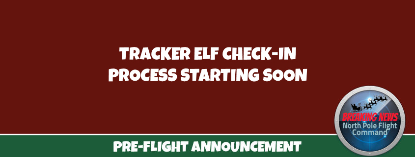 Tracker Check Ins Soon