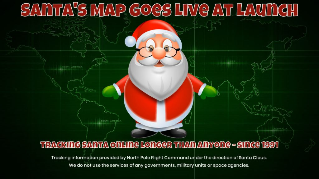 Santa Map