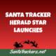 Santa Tracker Herald Star