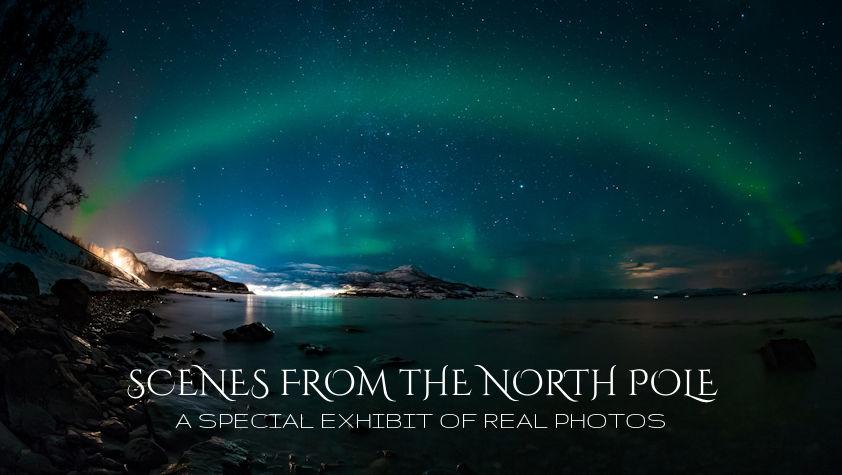 North Pole Photo Exhibit