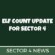 Sector 4 Elf Count Update
