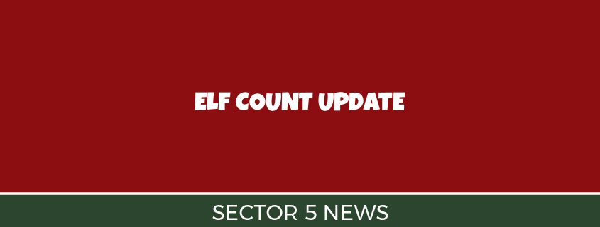 Sector 5 Rocks the Elf Count