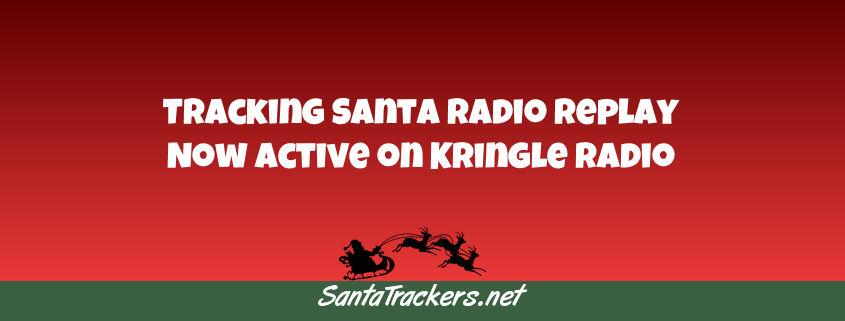 Tracking Santa on the Radio