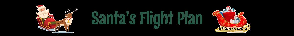 Santa's Flight Plan