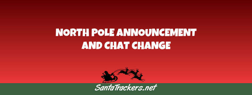 North Pole Announcement Coming