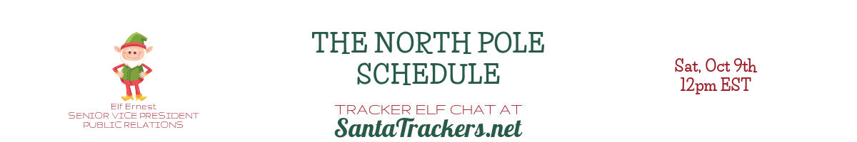 The North Pole Schedule